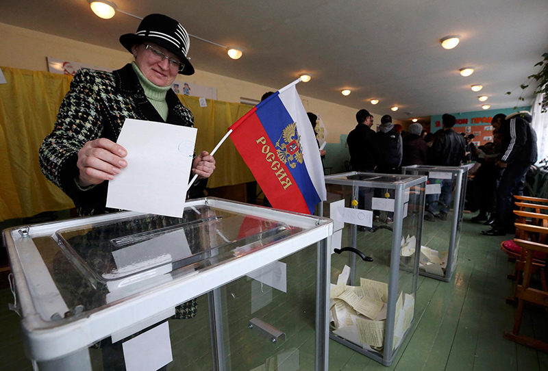 referendum in Ostukraine