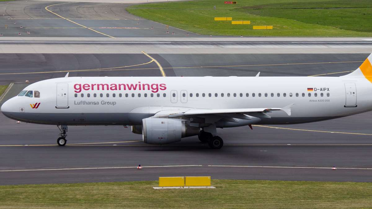 so ein Germanwings airbus is abgestürzt