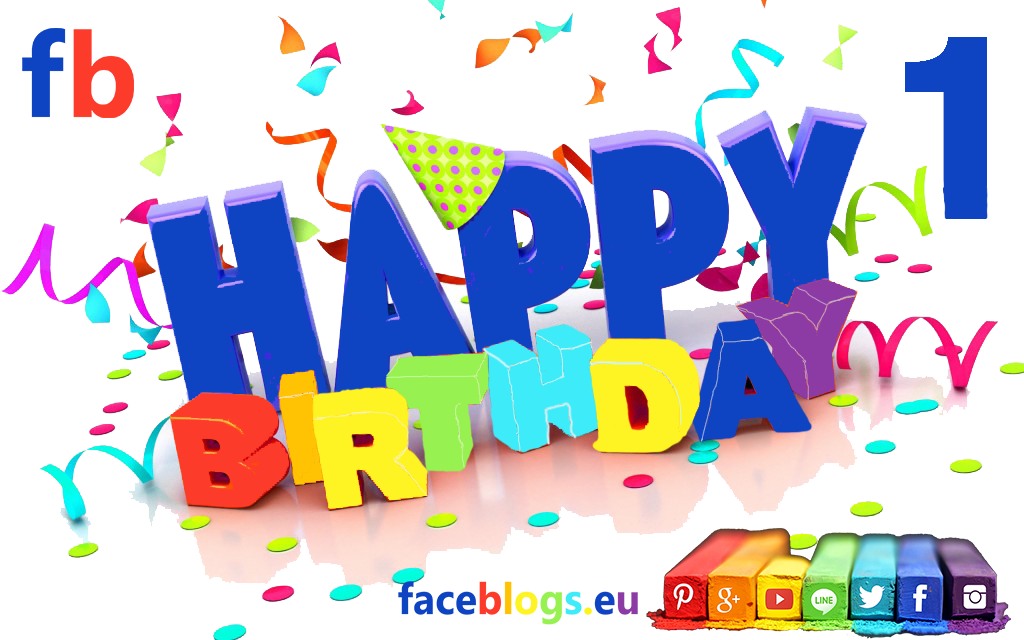 happy birthday zur Party von faceblogs,eu